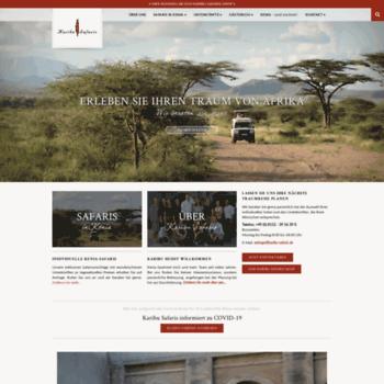 Karibu Kenia Safaris De At Wi Safari Spezialist Fur Kenia Karibu