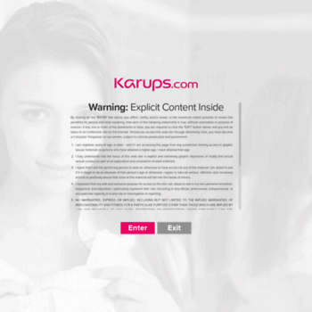 Веб сайт karups.chod.sk