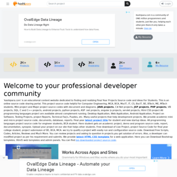 kashipara com at WI  Free download latest open source code