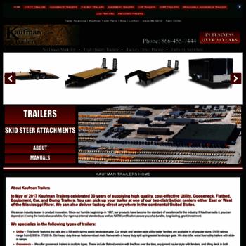 Kaufmantrailers.com thumbnail