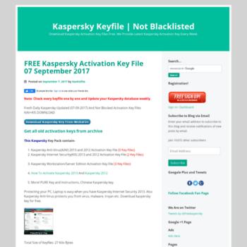 kaspersky key file free download