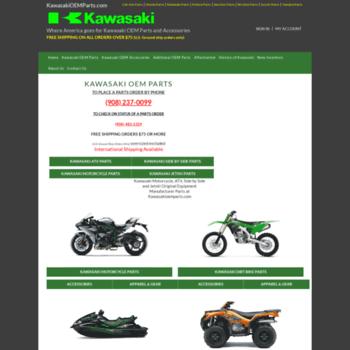 kawasakioemparts com at WI  Kawasaki OEM Parts Free Shipping