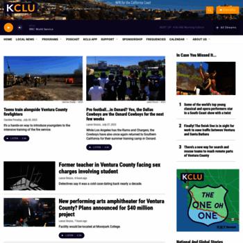 Kclu.org thumbnail