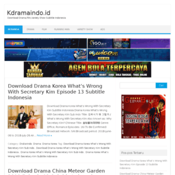 download drama why secretary kim eps 13 sub indo