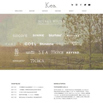 Kea.co.jp thumbnail