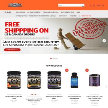 keebosportssupplements com at WI  Keebo Sports Supplements