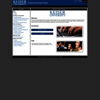 Keiseruniversity Org At Wi Keiser University Student Portal