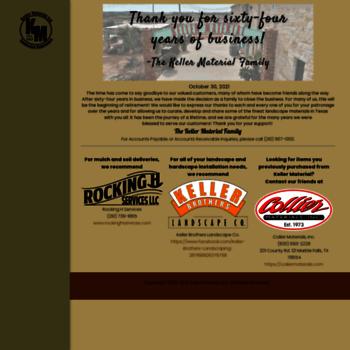 Kellermaterialcom At Wi Keller Material Stone And Landscaping