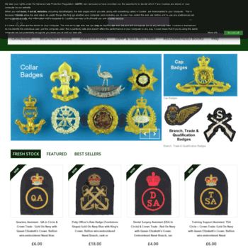 kellybadges co uk at WI  Militaria, Army Badge and Uniform