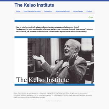 Kelsoinstitute.org thumbnail
