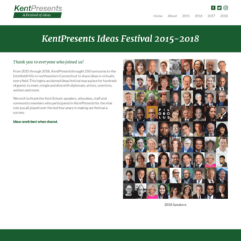 Kentpresents.org thumbnail