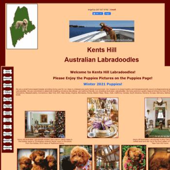 kentshilllabradoodles com at WI  Kents Hill Australian