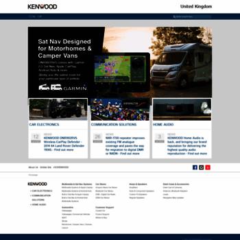 Kenwood-electronics.co.uk thumbnail