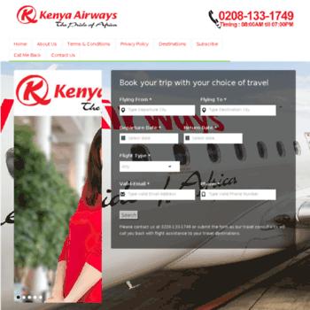 Kenyaairway.co.uk thumbnail