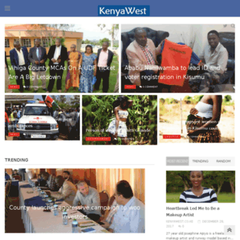 Kenyawest.co.ke thumbnail