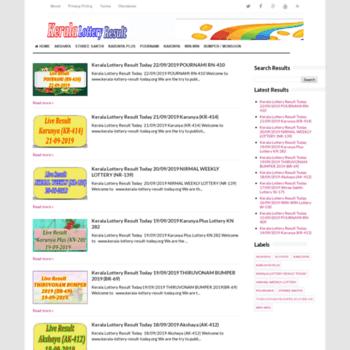 Kerala-lottery-result-today.org thumbnail
