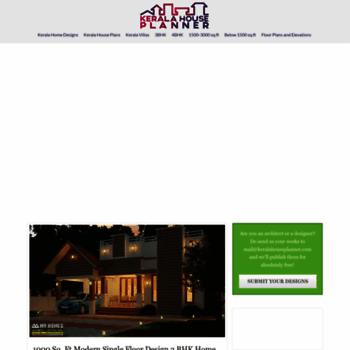 . keralahouseplanner com at WI  Kerala Home Designs   House Plans