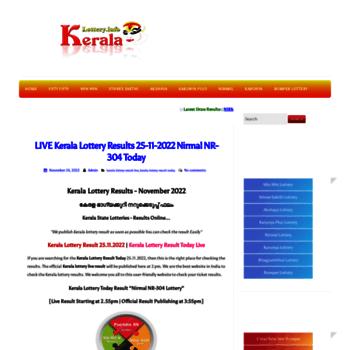 Keralalottery.info thumbnail
