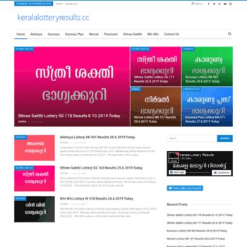 Keralalotteryresults.cc thumbnail