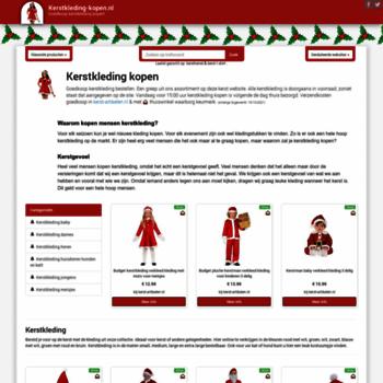 Kerstkleding-kopen.nl thumbnail