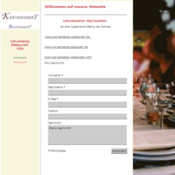 Kervansarayrestaurant.de thumbnail