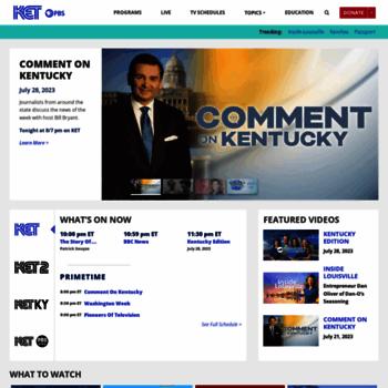 Ketorg At Wi Ket Kentucky Educational Television Online Video