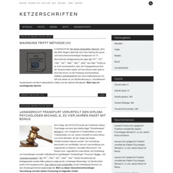 Ketzerschriften.net thumbnail