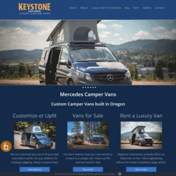 04a46217f1 keystonecoachworks.net at WI. Luxury Camper Vans Oregon