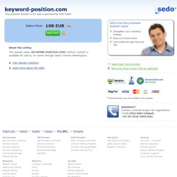 Keyword-position.com thumbnail