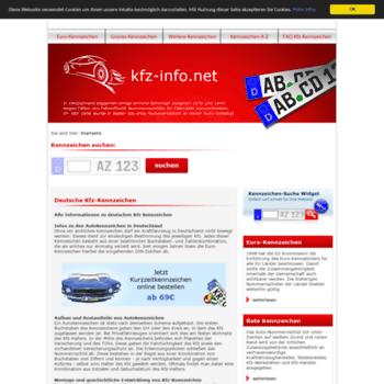 Kfz-info.net thumbnail