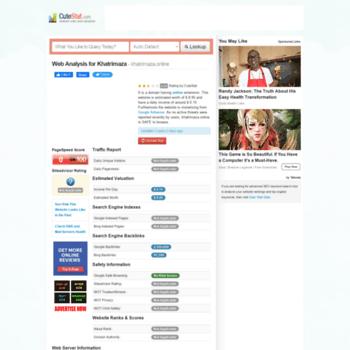 Khatrimaza.online.cutestat.com thumbnail