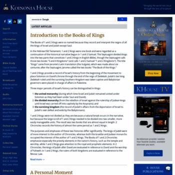 Khouse.org thumbnail