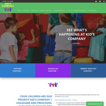 Kidscompanypreschool.org thumbnail