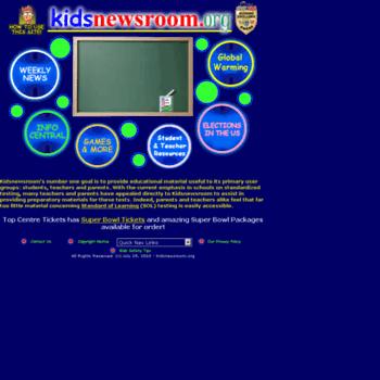 Kidsnewsroom.org thumbnail