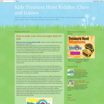 Kidstreasurehuntriddles.com thumbnail