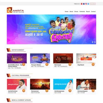 Kij Amritatv Com At Wi Welcome To Amrita Tv