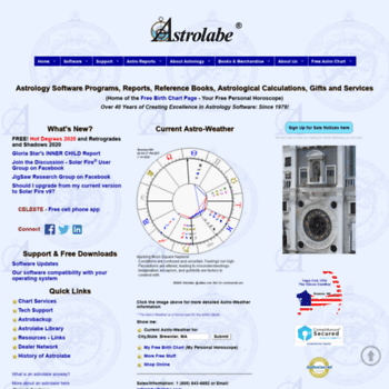 Astrolabe Natal Chart Gallery Chart Design For Project