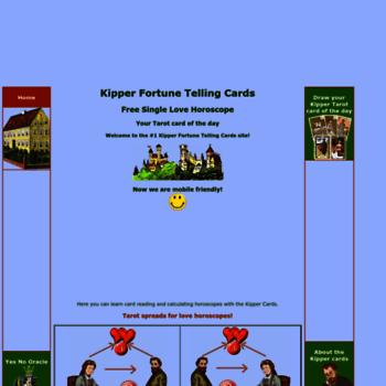 kipper-fortune-telling-cards com at WI  Kipper Fortune