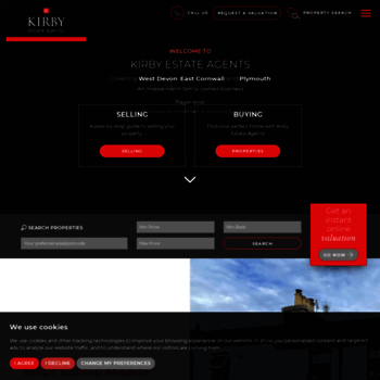 Kirbyestateagents.co.uk thumbnail
