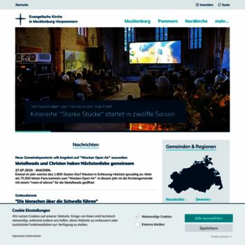 Kirche-mv.de thumbnail