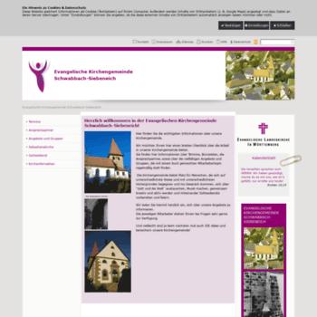 Kirche-schwabbach-siebeneich.de thumbnail