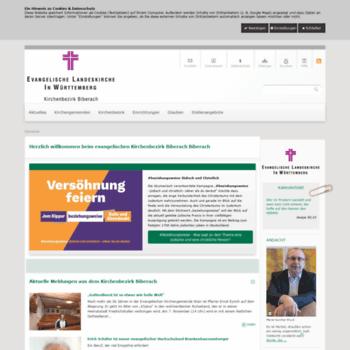 Kirchenbezirk-biberach.de thumbnail