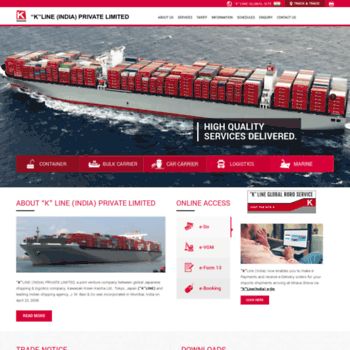 kline co in at WI  Liner Shipping, Freight Forwarding