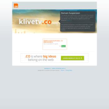 Klivetv.co thumbnail