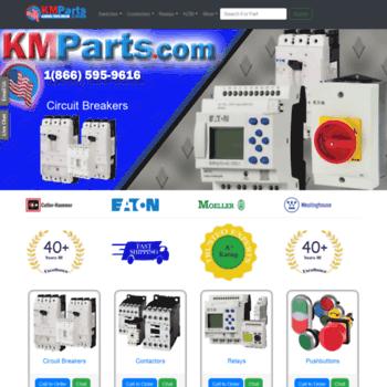 klocknermoeller com at WI  KMParts - Eaton Moeller Electric