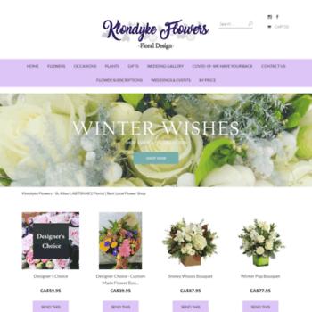 Klondykeflowers.com thumbnail