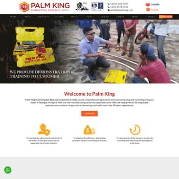 klspalmking com at WI  Agriculture Tools Manufacturer Selangor