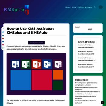 kmspico-activator com at WI  Top 3 Clean Downloadable