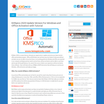 kmspico4u com at WI  KMSpico 2019 Update Version 11 For Windows and