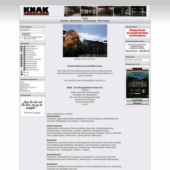 Knak-ika.de thumbnail